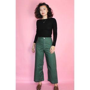 Vintage Pants - *FINAL SALE* 306 VTG 70s Jesse Kamm Like Pants